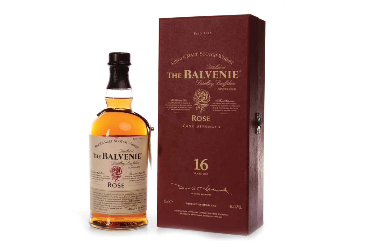 Image of Balvenie Rose First Edition bottle