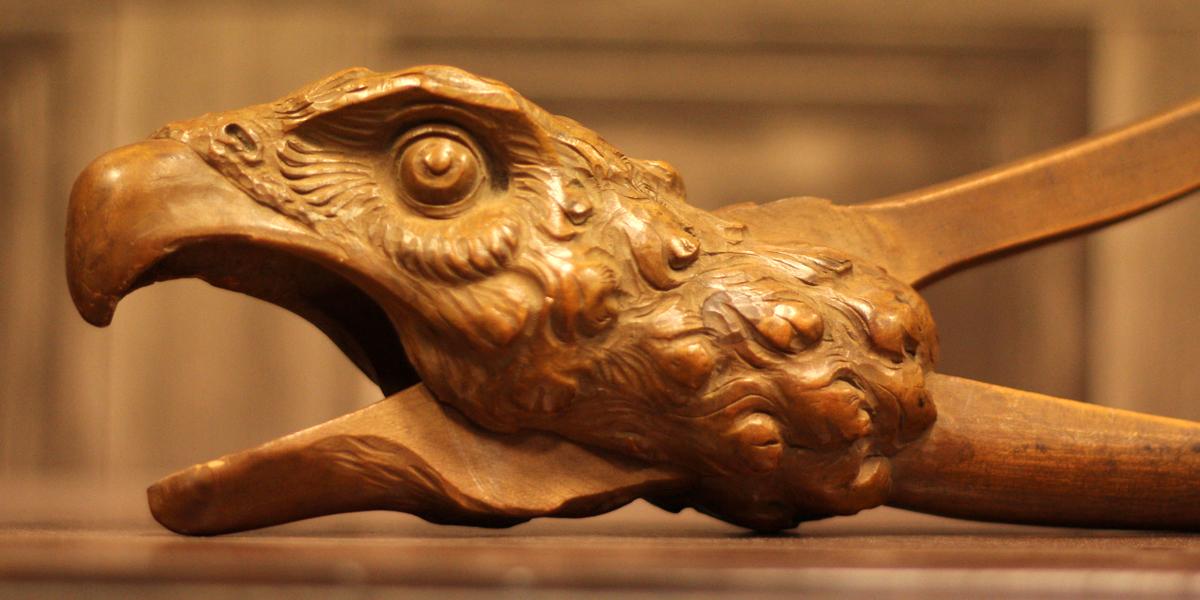 Image of eagle nutcracker