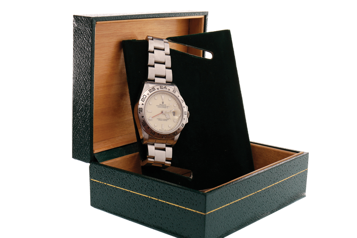 Image of lot 750 - Rolex Oyster Perpetual Date Explorer II in box