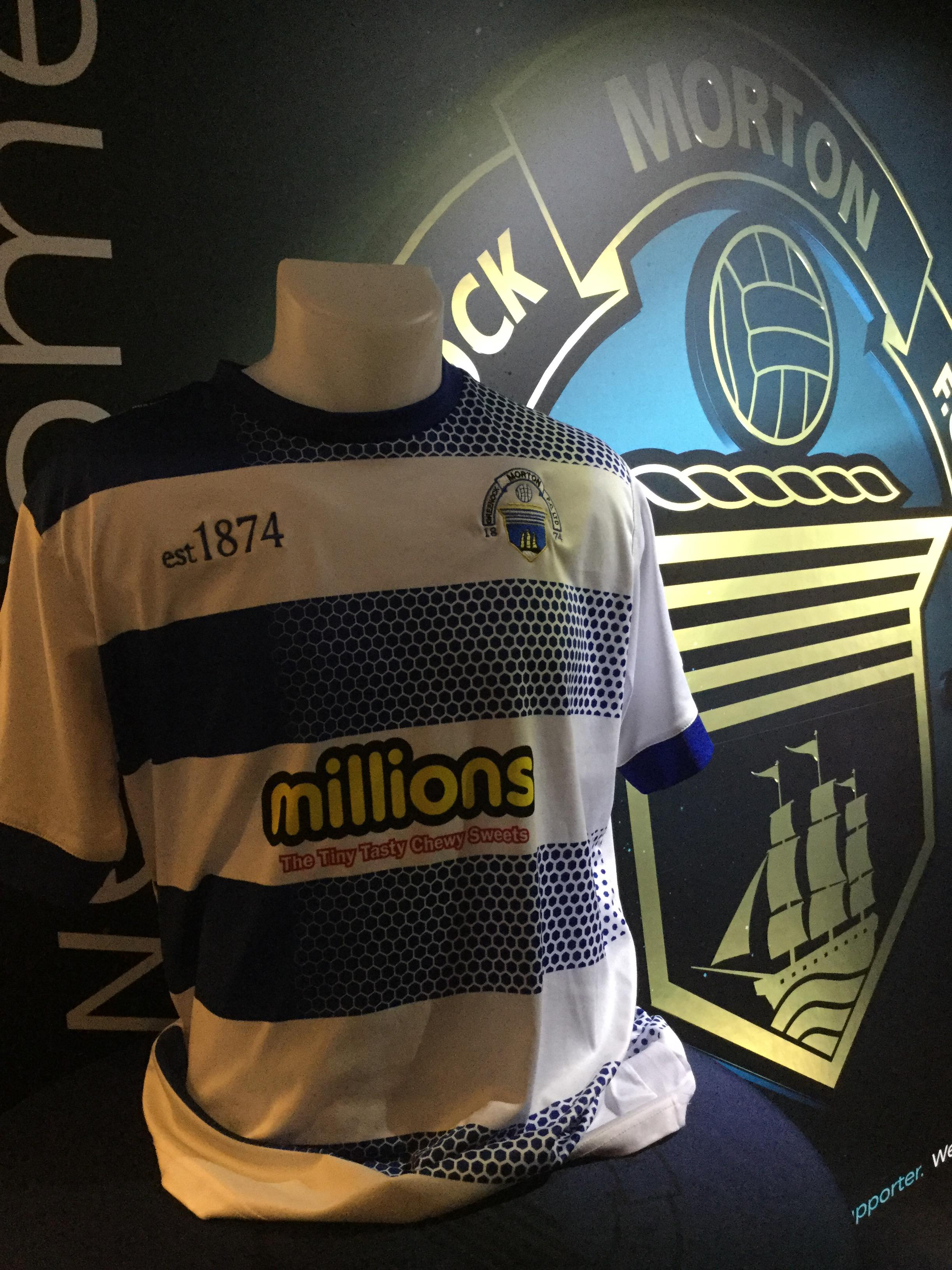 Greenock Morton FC Kit Auction