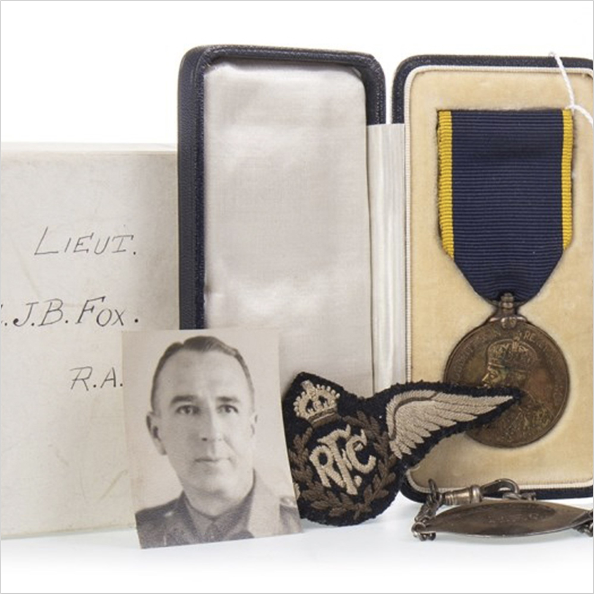 The Works of Art, Medals, Militaria & Furniture Auction