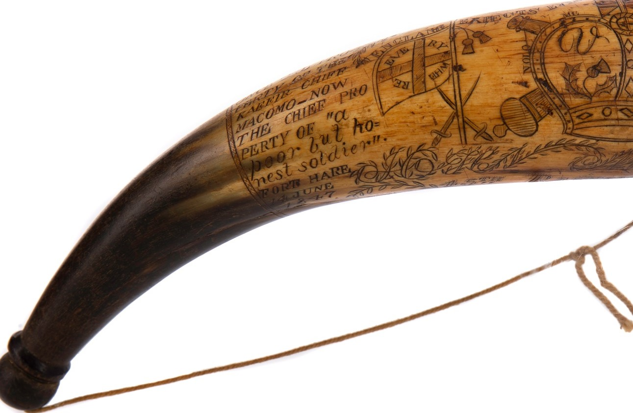 Hunting horn of note