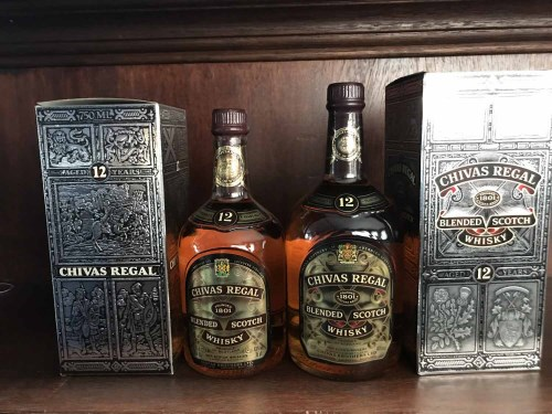 Lot 1-CHIVAS REGAL AGED 12 YEARS - ONE LITRE Blended...