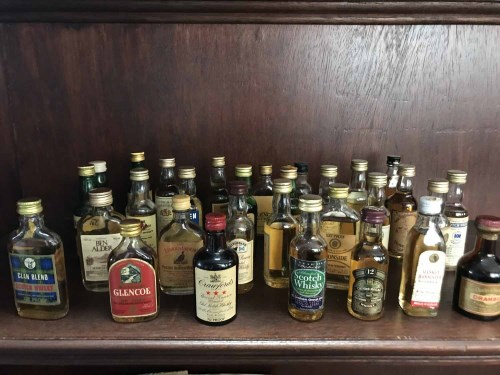 Lot 13-APPROXIMATELY EIGHTY WHISKY MINIATURES Mainly...