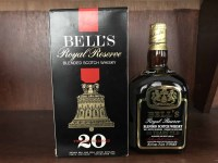 Lot 24-BELL'S ROYAL RESERVE 20 YEARS OLD Blended Scotch...