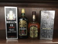 Lot 26-BELL'S DE LUXE 12 YEARS OLD Blended Scotch Whisky....