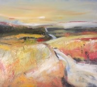 Lot 2340A - MAY BYRNE, AUTUMN LIGHT oil on canvas, signed...