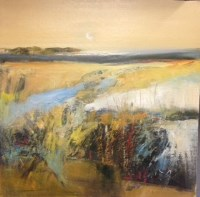 Lot 2345A - MAY BYRNE, AUTUMN MOOR oil on canvas, signed...