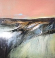 Lot 2350A - MAY BYRNE, WINTER SHORE oil on canvas, signed...