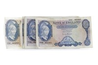 Lot 547 - COLLECTION OF BANK OF ENGLAND £5 FIVE POUNDS...