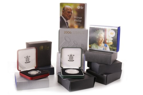 Lot 556 - COLLECTION OF VARIOUS SILVER PROOF COINS...