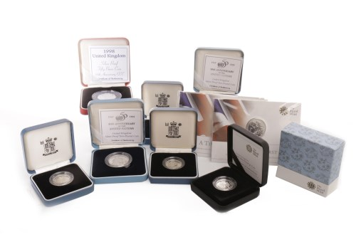 Lot 563 - COLLECTION OF THE ROYAL MINT SILVER PROOF...