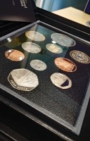 Lot 570 - FOUR VARIOUS UK PROOF COIN SETS including The...