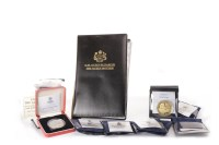 Lot 572 - COLLECTION OF VARIOUS SILVER PROOF COINS...