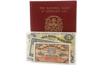 Lot 575 - THE NATIONAL BANK OF SCOTLAND £5 FIVE POUNDS...