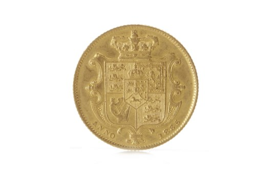 Lot 579 - GOLD SOVEREIGN DATED 1835