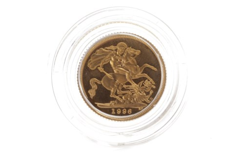 Lot 581 - UNITED KINGDOM GOLD PROOF HALF SOVEREIGN DATED...