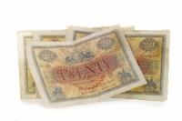 Lot 589 - THE UNION BANK OF SCOTLAND LIMITED £20 TWENTY...
