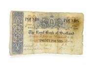 Lot 593 - THE ROYAL BANK OF SCOTLAND £20 TWENTY POUNDS...