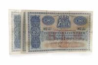 Lot 595 - TWO THE BRITISH LINEN BANK £20 TWENTY POUNDS...