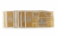 Lot 599 - LARGE GROUP OF BANK OF SCOTLAND £5 FIVE POUNDS...