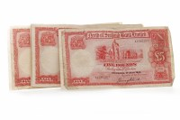Lot 600 - COLLECTION OF NORTH OF SCOTLAND BANK LIMITED...