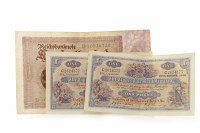 Lot 608 - THREE THE CLYDESDALE BANK LIMITED £1 ONE POUND...
