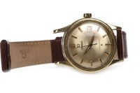 Lot 765 - GENTLEMAN'S OMEGA CONSTELLATION GOLD PLATED...