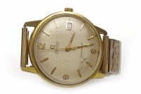 Lot 766 - GENTLEMAN'S OMEGA SEAMASTER GOLD PLATED AND...