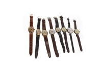 Lot 829 - GROUP OF EARLY TWENTIETH CENTURY WRIST WATCHES...