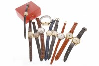 Lot 833 - GROUP OF GENTLEMAN'S WRIST WATCHES all mid to...