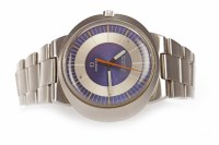 Lot 864 - GENTLEMAN'S OMEGA GENEVE DYNAMIC STAINLESS...