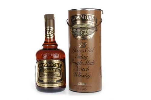 Lot 1009-BOWMORE AGED 12 YEARS DUMPY BOTTLE Active....