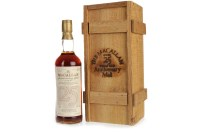 Lot 1015-MACALLAN 1957 ANNIVERSARY MALT 25 YEARS OLD...