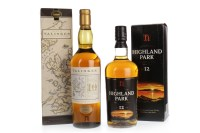 Lot 1083 - TALISKER 10 YEARS OLD - MAP LABEL Active....