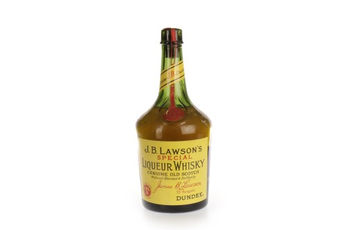 Lot 1184 - J.B LAWSON'S SPECIAL LIQUEUR WHISKY - EARLY...
