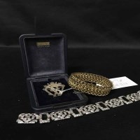 Lot 7-SMALL LOT OF JEWELLERY including small nine carat ...