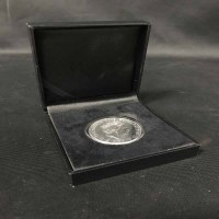 Lot 28-SILVER £100 COIN, FLORENCE NIGHTINGALE 2010...