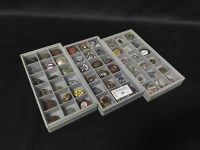 Lot 39-LOT OF MILITARY RELATED ENAMEL BADGES AND BUTTONS ...
