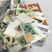 Lot 58 - LOT OF STAMPS including a number of...