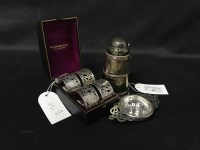Lot 69 - LOT OF SILVER PLATED WARE including four...
