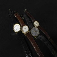 Lot 82 - LOT OF WATCHES including a silver pocket watch