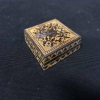 Lot 89 - 19TH CENTURY TUNBRIDGE WARE SQUARE PUZZLE BOX