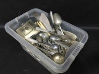 Lot 99 - LOT OF LOOSE PLATED CUTLERY