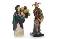 Lot 1205-ROYAL DOULTON FIGURE OF 'THE BALLOON SELLER' HN...