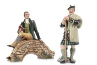 Lot 1216-ROYAL DOULTON FIGURE OF 'ROBERT BURNS' HN3641,...