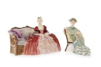 Lot 1218-ROYAL DOULTON FIGURE OF 'BELLE O' THE BALL' HN...