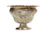 Lot 850-EARLY 20TH CENTURY SILVER BOWL maker Atkin...