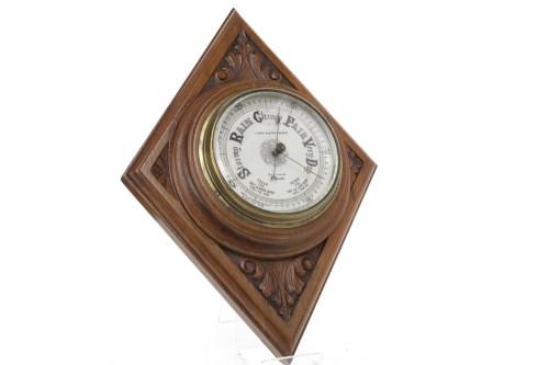 Lot 1409-EARLY 2OTH CENTURY WALL BAROMETER BY LENNIE &...