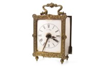 Lot 1429-EARLY 20TH CENTURY CARRIAGE CLOCK BY GUSTAV...